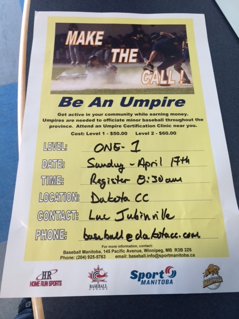 Interested in becoming an UMPIRE?