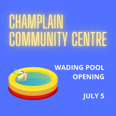 Wading Pool OPEN July 5